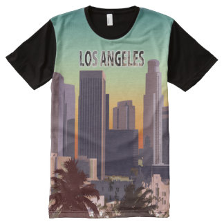 Downtown L.A. All-Over Print T-shirt