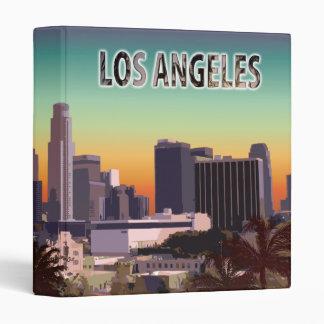 Downtown L.A. 3 Ring Binder