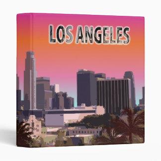 Downtown L.A. Vinyl Binder