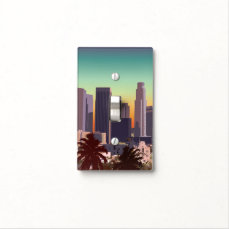 Downtown L.A. Light Switch Cover