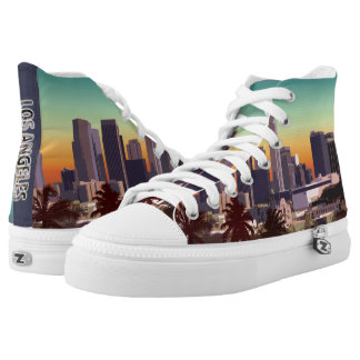 Downtown L.A. Printed Shoes
