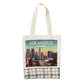 Downtown L.A. Zazzle HEART Tote Bag