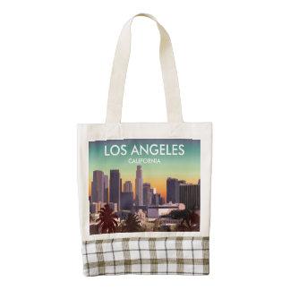 Downtown L.A. Zazzle HEART Tote Bag