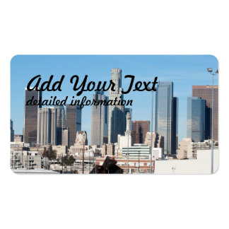 Downtown La Double-Sided Standard Business Cards (Pack Of 100)
