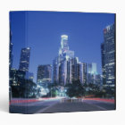 Downtown Los Angeles 3 Ring Binder