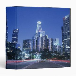 Downtown Los Angeles 3 Ring Binder