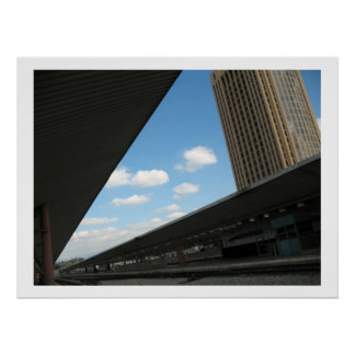 Downtown Los Angeles at Union Station Poster