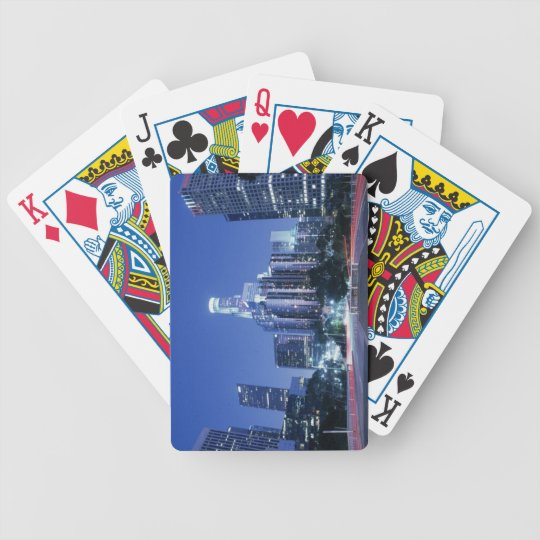 Downtown Los Angeles Bicycle Playing Cards