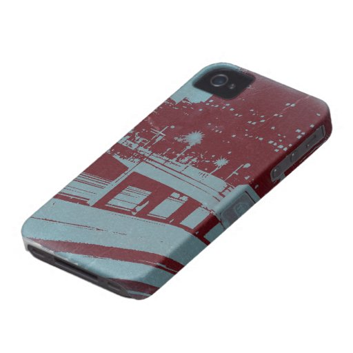 Downtown Los Angeles Blackberry Case