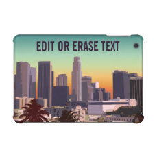Downtown Los Angeles, CA - Customized View iPad Mini Covers