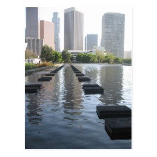 Downtown Los Angeles California By Bernadette Seba Post Card