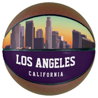 Downtown Los Angeles - Customizable Design Basketball