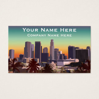 Downtown Los Angeles - Customizable Image Business Card