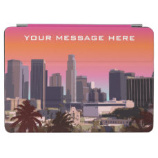Downtown Los Angeles - Customizable Image iPad Air Cover