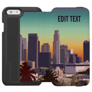 Downtown Los Angeles - Customizable Image iPhone 6/6s Wallet Case