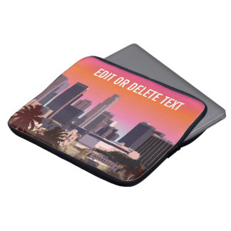 Downtown Los Angeles - Customizable Image Laptop Sleeve