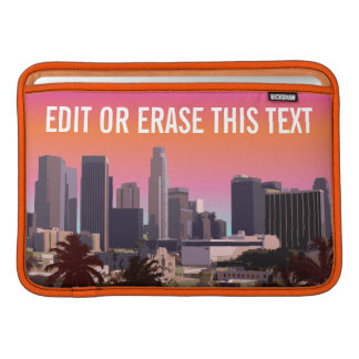 Downtown Los Angeles - Customizable Image MacBook Air Sleeve