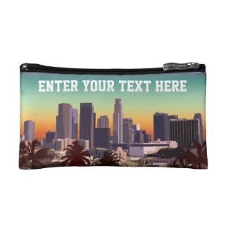 Downtown Los Angeles - Customizable Image Makeup Bag