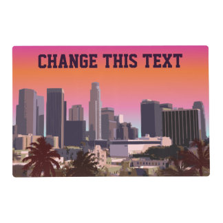 Downtown Los Angeles - Customizable Image Placemat