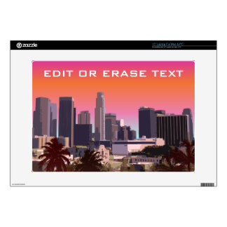 "Downtown Los Angeles - Customizable Image Skin For 15"" Laptop"