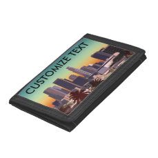 Downtown Los Angeles - Customizable Image Tri-fold Wallet