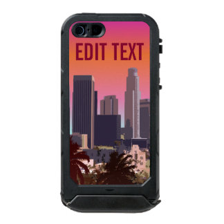 Downtown Los Angeles - Customizable Image Waterproof iPhone SE/5/5s Case