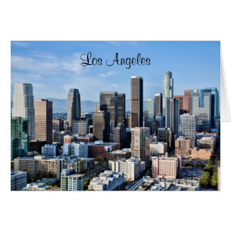 Downtown Los Angeles Daylight Greeting Cards