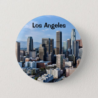 Downtown Los Angeles Daylight Pinback Button