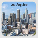 Downtown Los Angeles Daylight Square Sticker