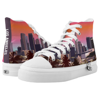 Downtown Los Angeles High-Top Sneakers