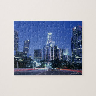 Downtown Los Angeles Jigsaw Puzzle