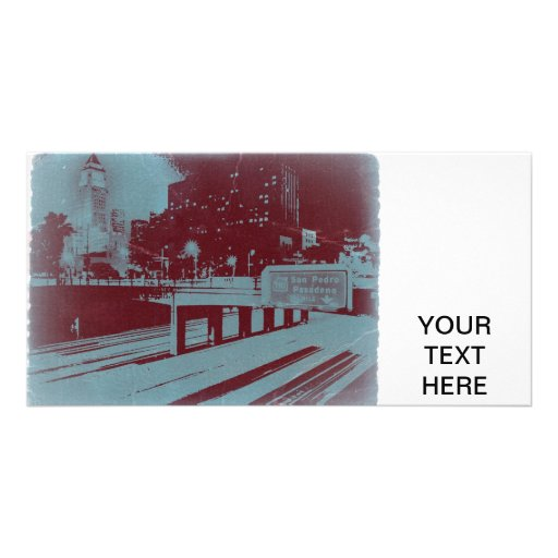 Downtown Los Angeles Photo Card