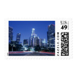 Downtown Los Angeles Postage Stamp