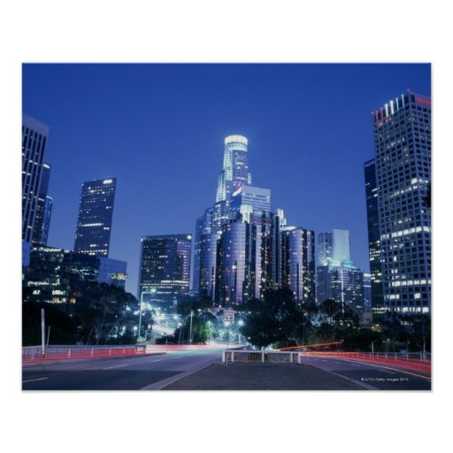 Downtown los angeles print for T shirt printing downtown los angeles