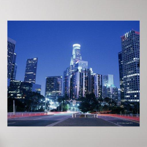 Downtown Los Angeles Print