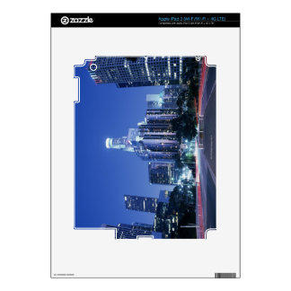Downtown Los Angeles Decals For iPad 3