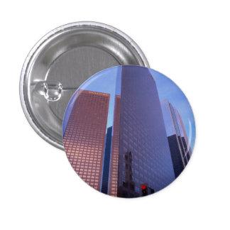 Downtown Los Angeles skyline, California, U.S.A. Button