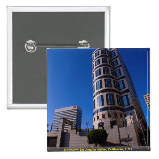 Downtown Los Angeles skyline, California, U.S.A. Pin