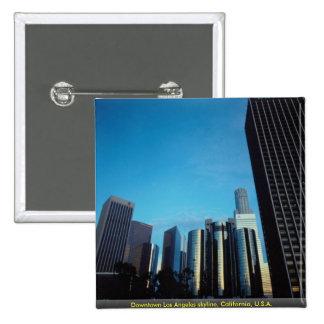 Downtown Los Angeles skyline, California, U.S.A. Pins