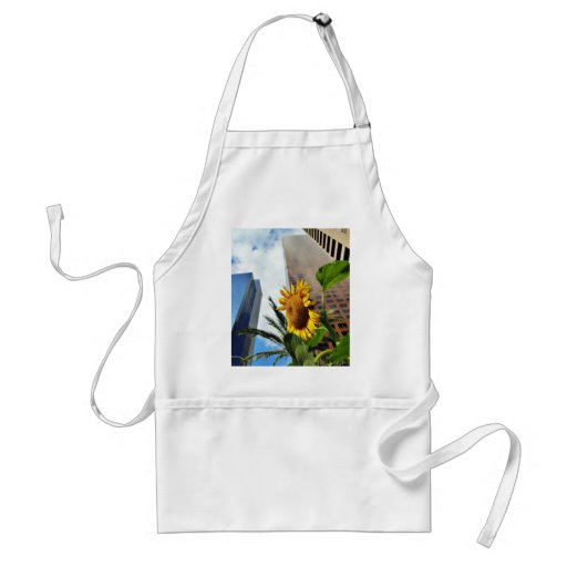Downtown Los Angeles Skyscrapers Adult Apron