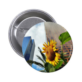 Downtown Los Angeles Skyscrapers Pinback Button