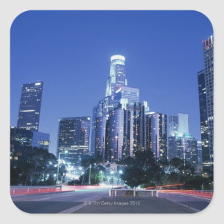 Downtown Los Angeles Square Sticker