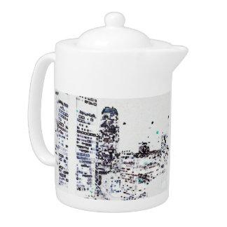 Downtown Los Angeles Teapot