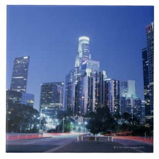 Downtown Los Angeles Ceramic Tiles