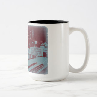 Downtown Los Angeles Two-Tone Coffee Mug