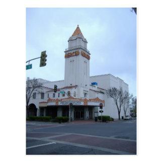 Downtown Merced Postcard