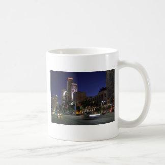 Downtown Miami by night Coffee Mug