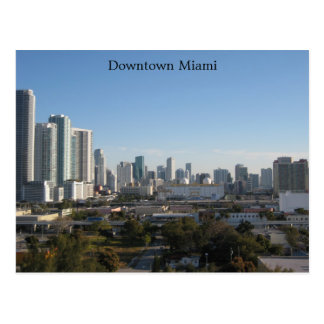 Downtown Miami Post Cards