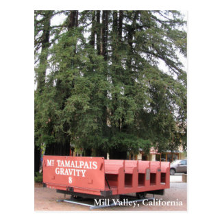 Downtown Mill Valley Postcard