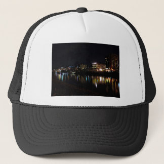Downtown Morgantown at Night Trucker Hat
